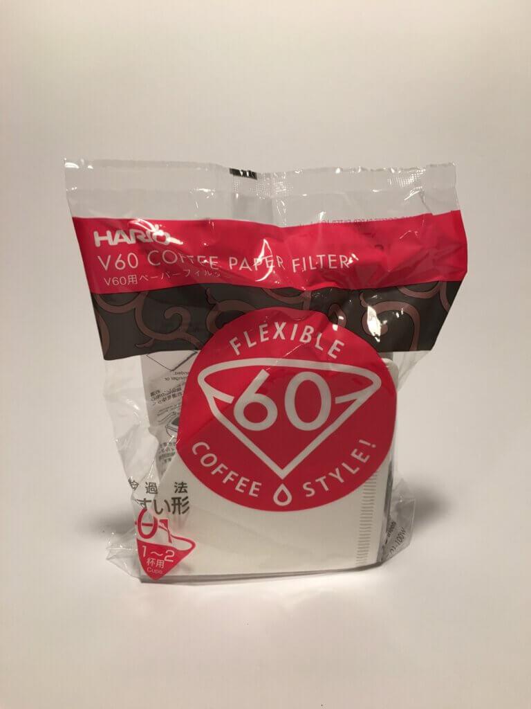 filtr pro kávy V60