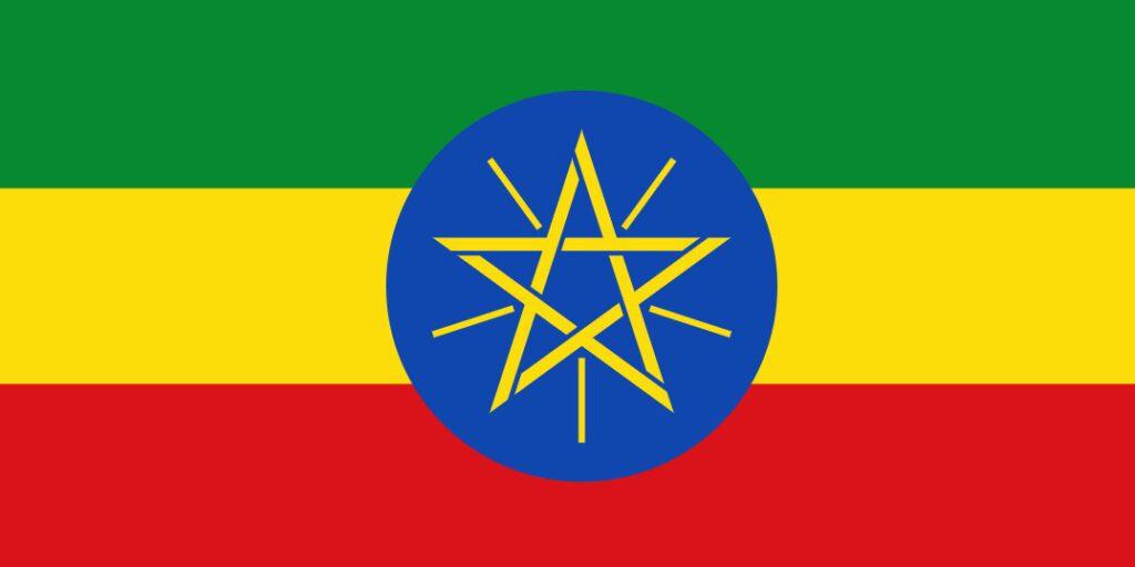 Ethiopská vlajka