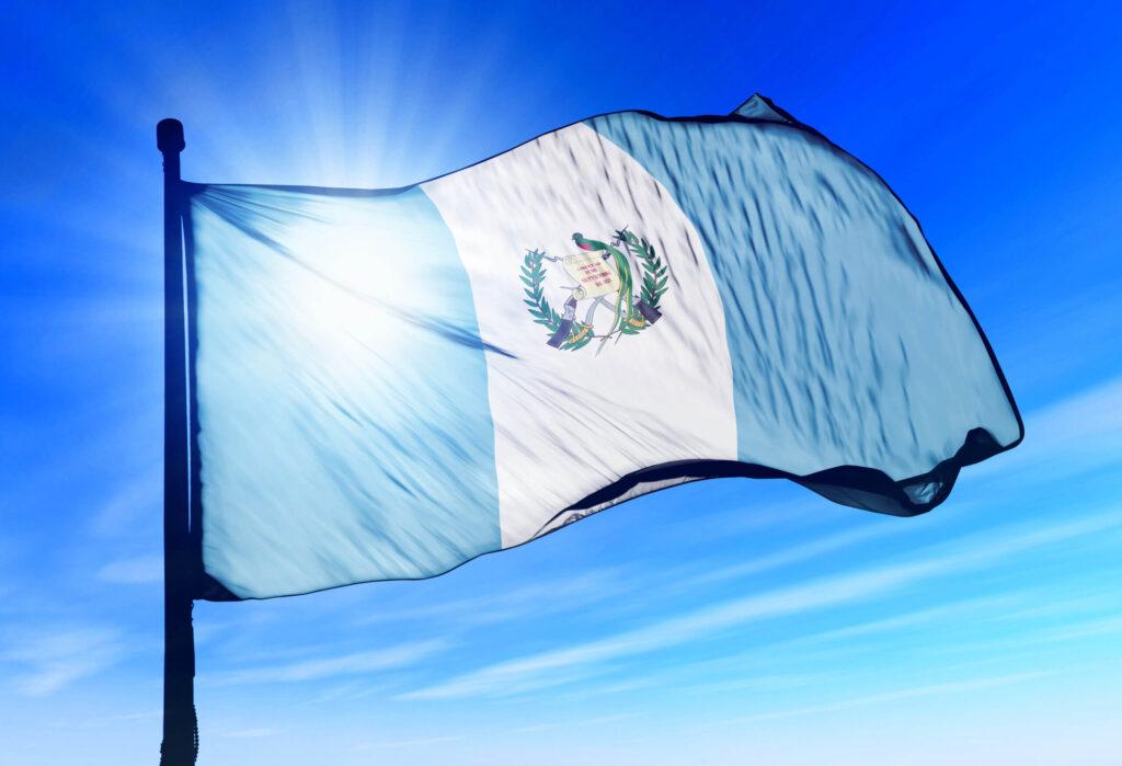 Guatemalská vlajka